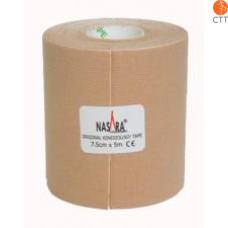 bandes de NASARA®, beige, 7.5cm x 5m, extra large