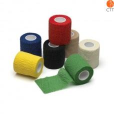 HerbaChaud Flex - 2,5 cm x 4,5 m cohésif bandage élastique adhésif déchirable à